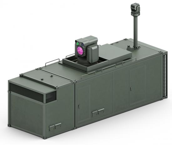 레이저 대공무기 (사진=방위사업청)
