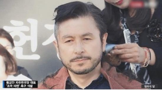 삭발 효과?…황교안 '野性 패러디' 이미지 화제