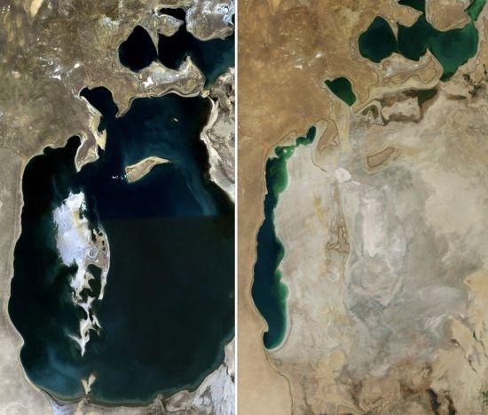 [과학을읽다]커지는 사막과 작아지는 호수…재앙의 시작?