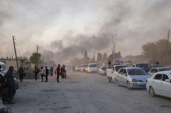 미군 철수 발표 사흘만에…터키, 시리아 쿠르드 공격 지상작전 개시