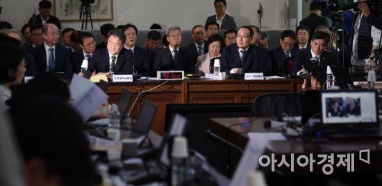 [포토] 국회 교육위 서울대 국정감사