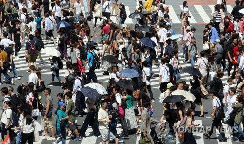 """日 유권자 56.3% """"'전쟁 포기·군대 보유 금지' 헌법 9조, 개정 불필요"""""""