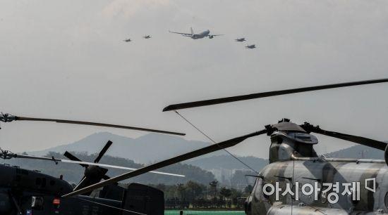 [포토]한미 공군 시범비행