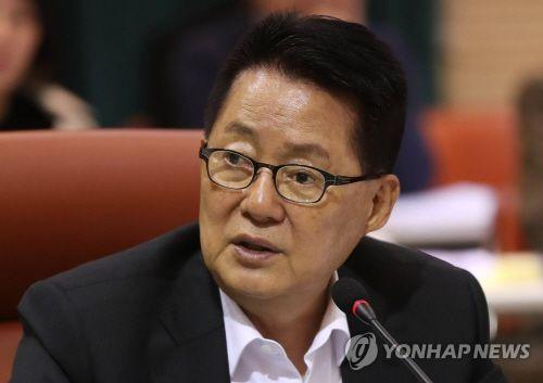 """박지원 """"조국 후임으로 전해철 의원 확실한 듯"""""""