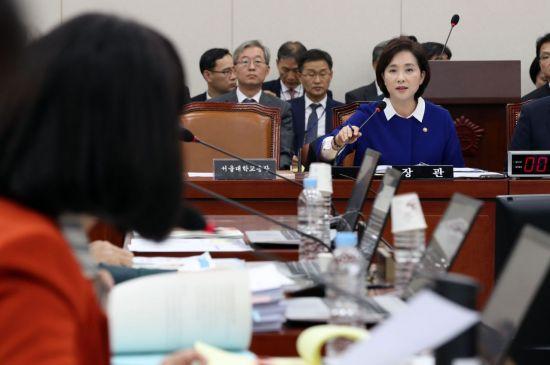 국감장에선 또 '조국 자녀 특혜논란' … 여당은 나경원 딸 의혹으로 맞서
