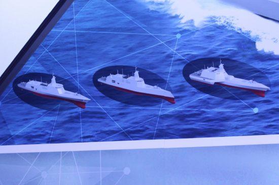 대우조선해양의 KDDX 선형 예상도