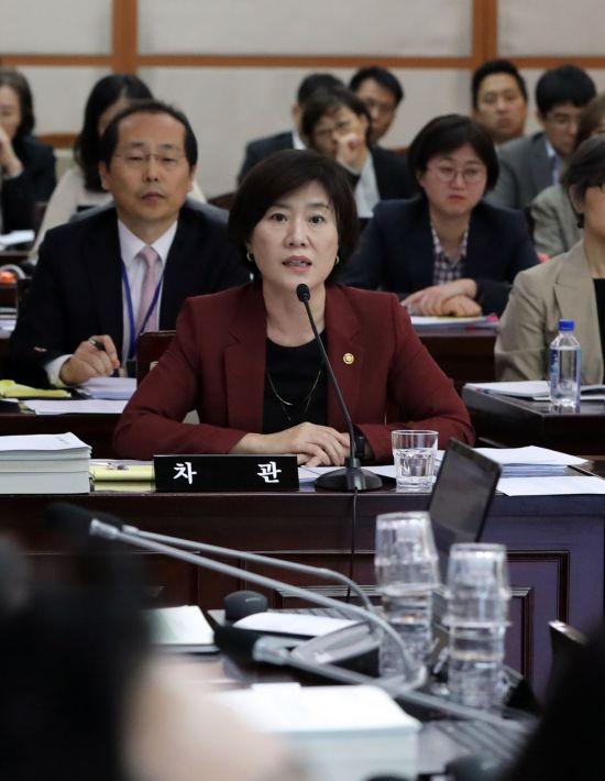"""윤지오 지원 익명 기부 """"김희경 여성가족부 차관 직접 했다"""""""
