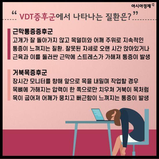 [카드뉴스]지금 당신이 겪고 있는 'VDT증후군' 알고 있나요?