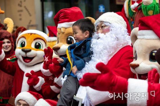 [포토]산타할아버지와 함께