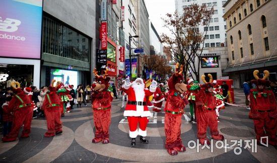 [포토]먼저 만나는 산타