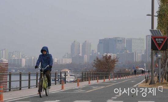 [포토] 서울 초미세먼지 나쁨