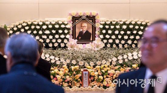 """박지원 """"故 김우중 전 대우그룹 회장 위기 극복 노력했던 분"""""""