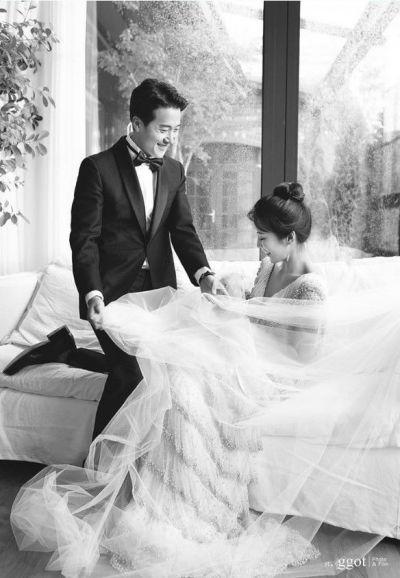 """[골프포토] '12월의 신부' 이보미 """"행복하게 살게요"""""""
