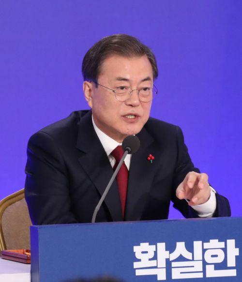 """바른미래당 """"文대통령, 신년 기자회견 '가관'…반성은 없고 망상만"""""""