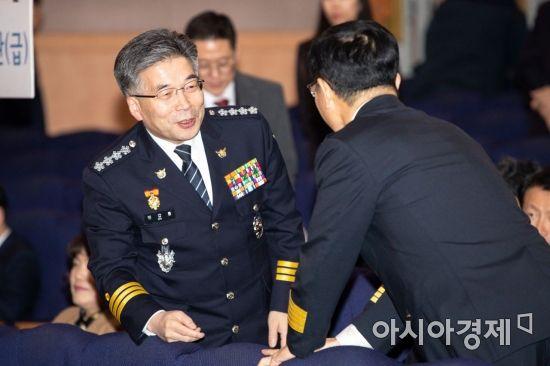 [포토]환하게 웃는 민갑룡 경찰청장
