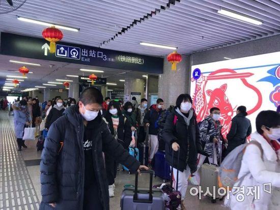[르포]베이징에 우한시민 '우르르'…뻥 뚫린 우한폐렴 방역망