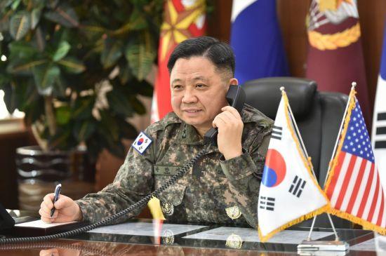 한미 합참의장 새해 첫 통화 '청해부대 파병' 논의