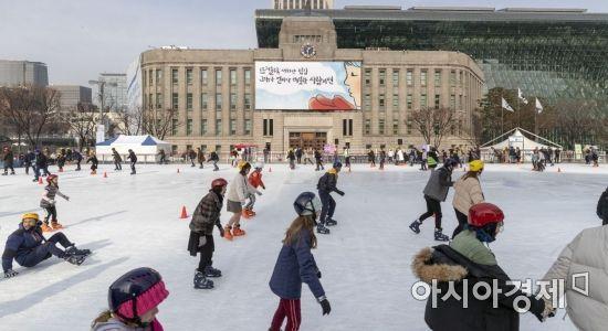 [포토] 설 연휴에 즐기는 스케이트