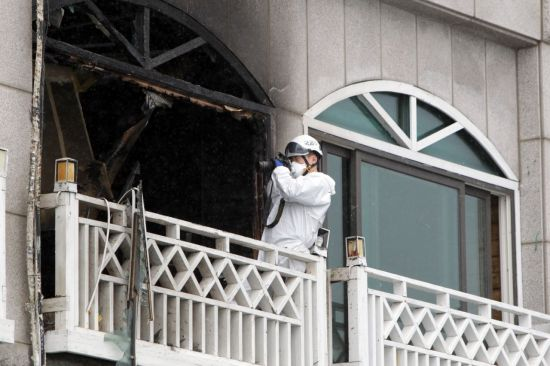 동해 펜션 폭발 사망자 5명으로 늘어…업무상 과실치사상 조사(종합)