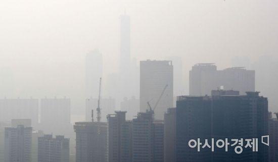 [포토] 시야에서 사라진 63빌딩