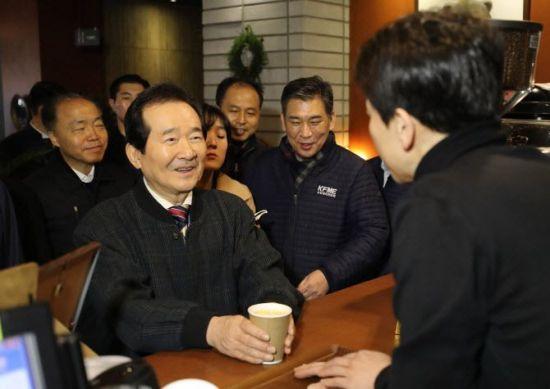 """정세균 '손님 발언' 논란…식당 측 """"왜곡 전달된 것"""" 해명"""