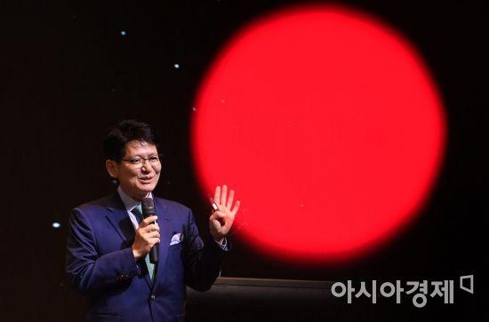 [포토] 프리젠테이션하는 강성부 KCGI 대표