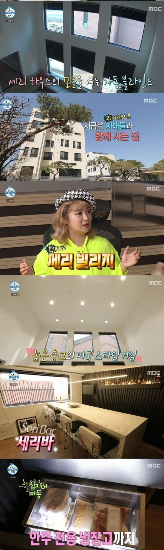 '나혼자산다' 박세리, 4층 '세리 빌리지' 공개…'미국 스타일 거실·세리바' 눈길