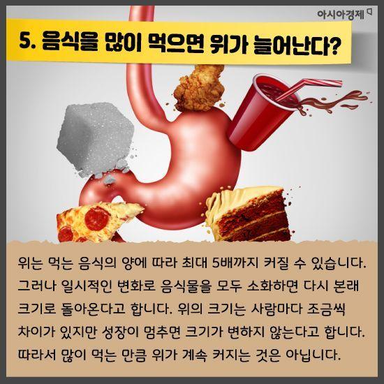 [카드뉴스]당신이 알고 있는 잘못된 건강상식 바로 잡아드려요