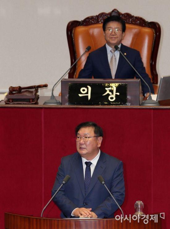 [포토] 인사말하는 김태년 원내대표
