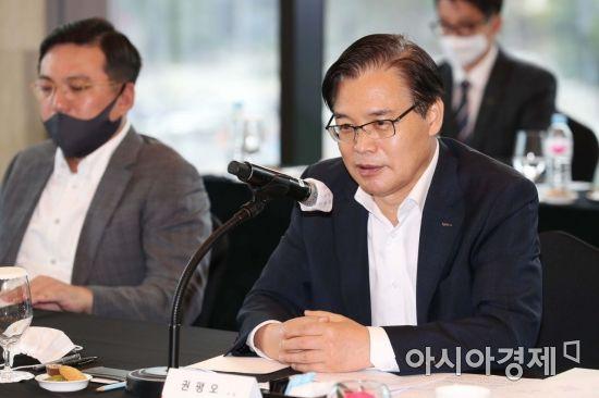 [포토]중견기업 글로벌 지원사업 참가기업 간담회