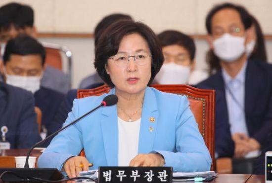 """조수진 """"추미애, 이젠 코로나도 윤석열 탓…한마디로 코미디"""""""