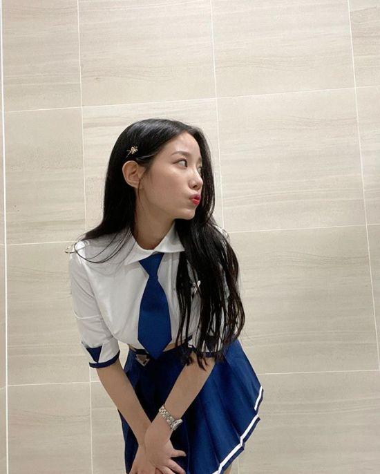 """[포토] 베리굿 조현 """"캐릭터 의상"""""""