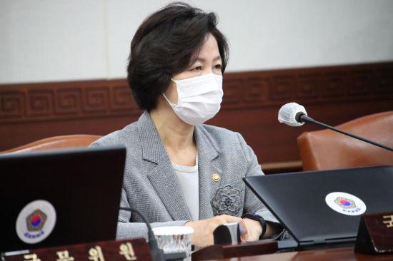 """추미애, '秋 수사지휘 위법' 검사장들에 """"흔들리지 말아야"""""""