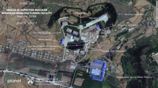 """CNN, """"北 원로리 핵시설 활동 포착""""(종합)"""