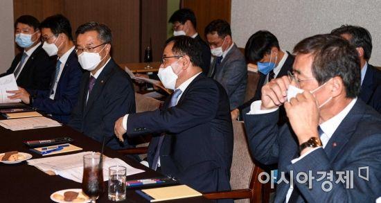 [포토]한자리에 모인 대산산단 주요기업 최고경영자들
