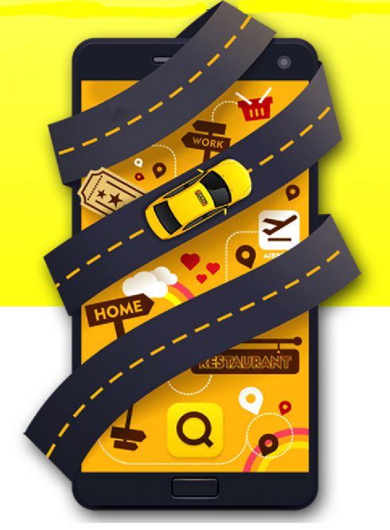 카카오T '콜' 5년…50년 택시 사납금을 지웠다