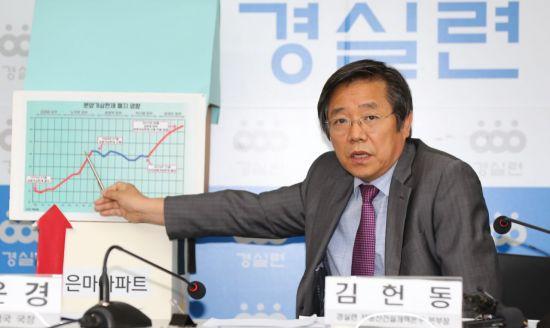 현 정부 '집값 폭등' 지적해온 경실련 부동산개혁본부 폐지