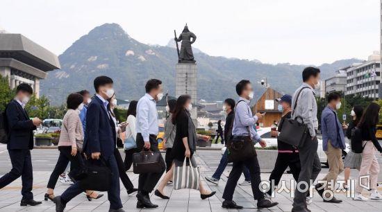 [포토] 두터워진 출근길 옷차림