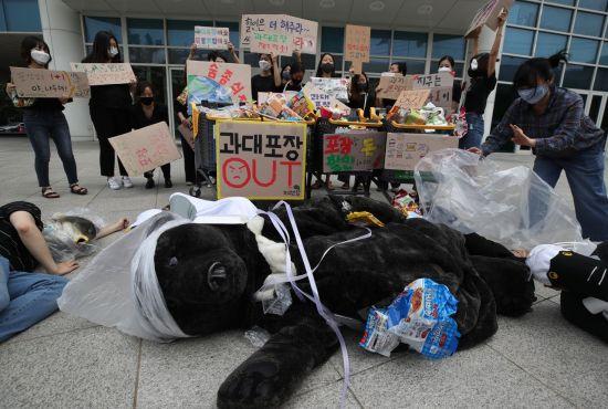 재포장 금지규정, 내년 1월 본격 시행…1+1 비닐포장 사라진다