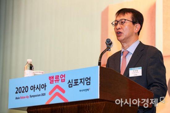 [포토]개막사하는 이의철 아시아경제 대표
