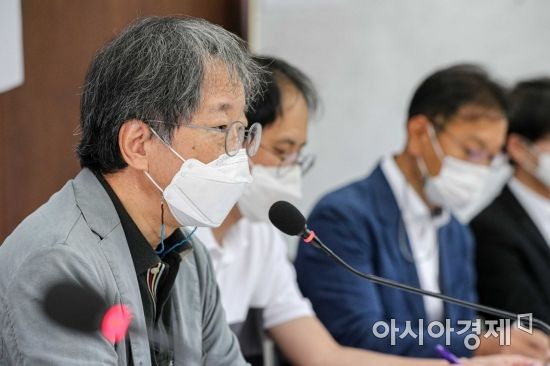 [포토]발언하는 한상희 건국대 법학전문대학원 교수