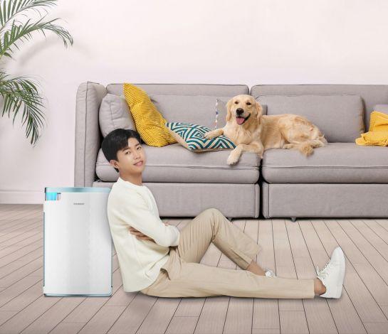 '휴대·펫·바닥' 공기청정기…맞춤형 '신기술' 활짝