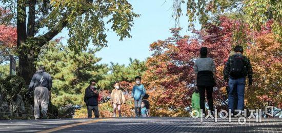 [포토]주말 남산 찾은 시민들