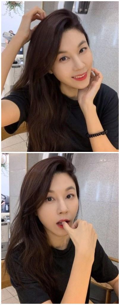 """김하늘, 막 찍어도 여신 미모…네티즌 """"43세 엄마라니"""""""
