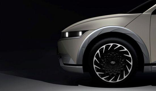 현대차 E-GMP 첫 적용 전기차 아이오닉5, 티저 이미지 공개