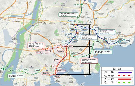2026년 전국 7곳에 '도로 위 지하철' BRT 달린다