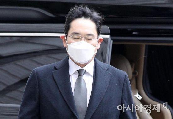 [포토] 눈 감은 이재용 부회장