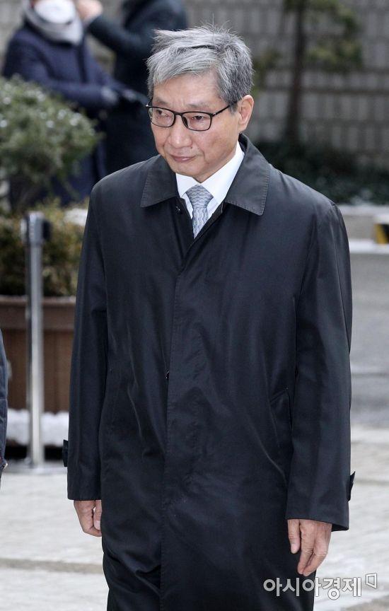 [포토] 파기환송심 선고 향하는 장충기 전 사장