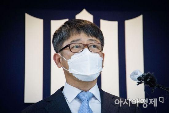 [포토]임관혁 세월호 참사 특별수사단장 브리핑