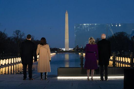 """바이든, 오늘 취임 … """"어둠 속에 빛을 남겨둔 사람들을 기억해야 해"""""""